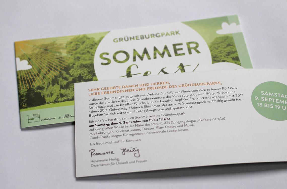 Sommerfest Grueneburgpark